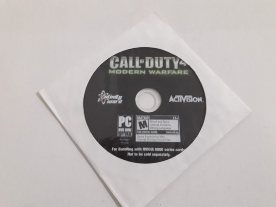 Pc Call Of Duty 4 Modern Warfare Novo Lacrado #801
