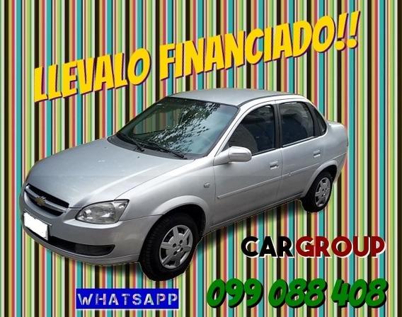 Chevrolet Corsa Classic Full 1.4 Nafta Año 2012 Financiado
