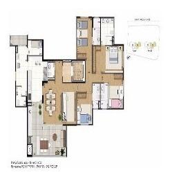 Apartamento Para Venda No Taquaral Em Campinas - Imobiliária Em Campinas - Ap01259 - 3223243