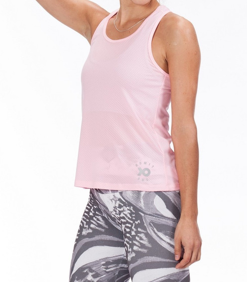 Musculosa Deportiva Pei Admit One Cuotas Sin Interes