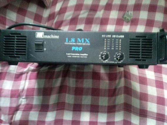 Potencia Machine 1.8 Mx Pro 500 Rms
