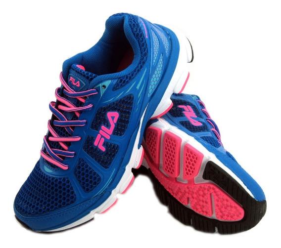 Zapatilla Fila Striking 3.0 Azul Running Mujer Eezap