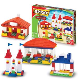 Bloques Blocky Construccion 200 Piezas Blocky