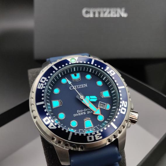 Relógio Citizen Mergulho Profissional Bn0151-09l - 200m