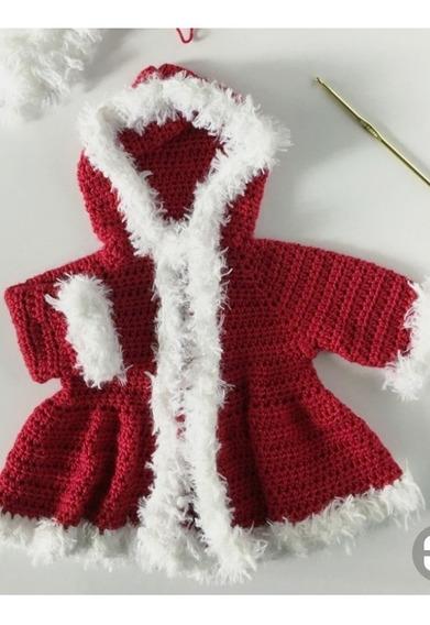 Papai Noel Newborn Croche