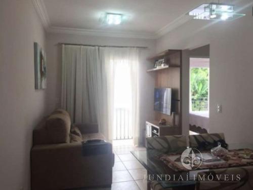 Vendo Apto De 54 M² No Villágio Di Napoli, Jardim Rosaura Em Jundiaí, Todo Com Planejados. - Ap00179 - 32104086