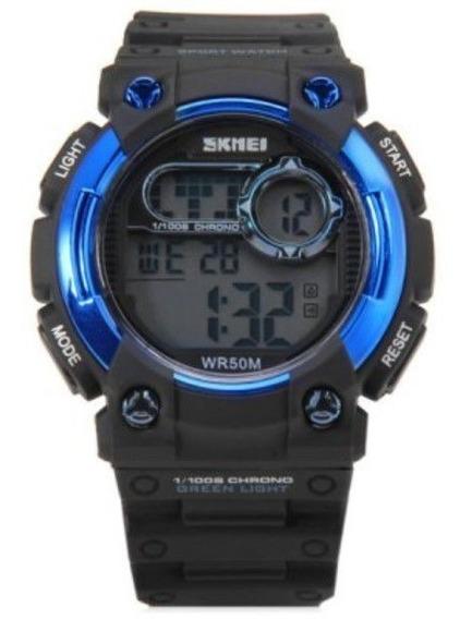 Relógio Skmei 1054 Led Esporte Digital Ao Ar Livre 5atm