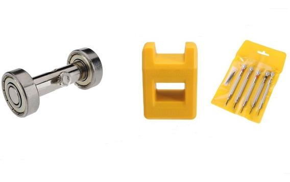 Kit De Chave De Precisão + Afiador + Magnetizador