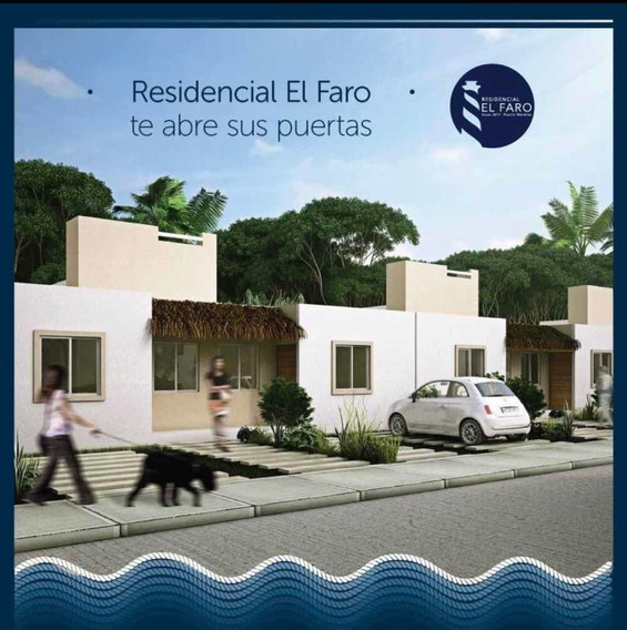 Venta De Casa En Residencial El Faro Puerto Morelos