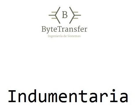 Software Gestión Indumentaria Sistema Ventas Bytetransfer