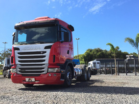 Caminhão Scania G420 6x2 Vermelha 2010