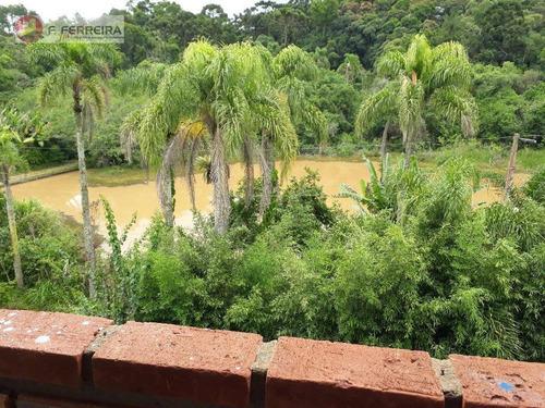 Chácara Com 2 Dormitórios À Venda, 2000 M² Por R$ 300.000 - Itaquaciara - Itapecerica Da Serra/sp - Ch0061