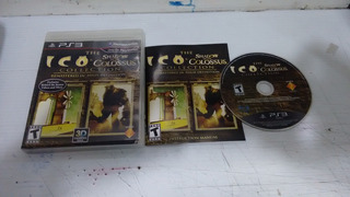Ico And Shadow Of Colossus Completo Play Station 3