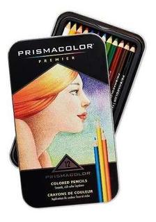 Prismacolor Premier - Lápis De Cor Profissional 12 Cores