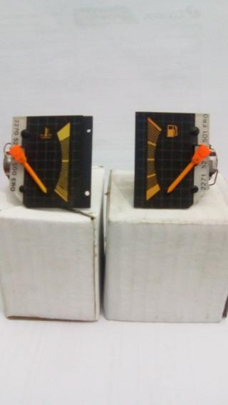 Marcador De Temperatura E Combustível Monza/kadet Laranja