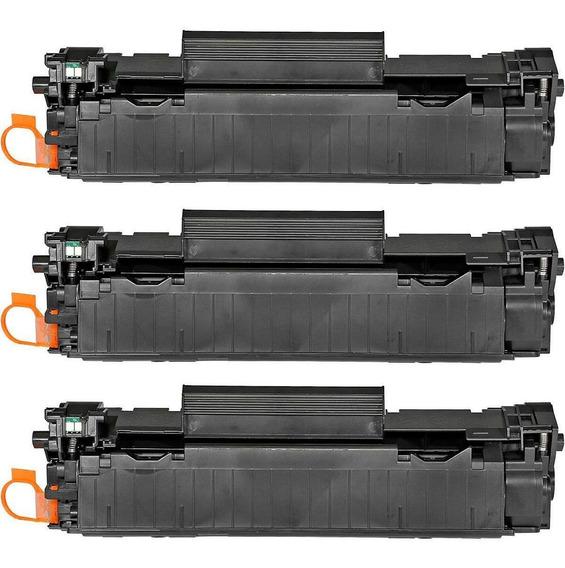3pçs Toner Compatível Marca Premium Para Uso Em M125a M125nw
