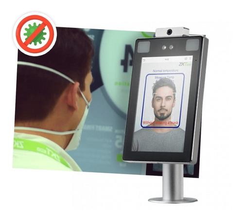 Control De Acceso/temp. Molinete Profacex-ch-td-wifi Zkteco