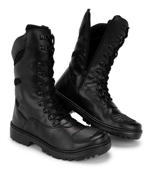 Bota Militar Tatico Coturno Masculino Feminino Palmilha Gel