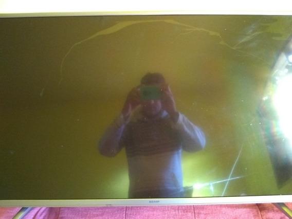 Smart Tv43 Semp. Tela Quebrada Só Para Tirar Peças P