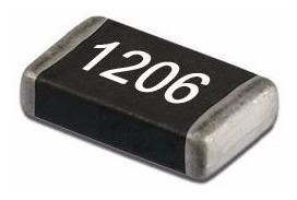 200 Resistores Em Smd 10r 5% 1206 1/4w