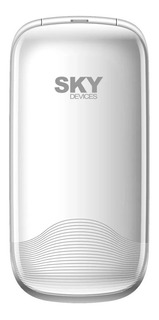 Sky Devices Flip2 Dual SIM 32 MB Blanco 32 MB RAM