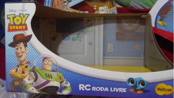 Caixa Vazia Rc Roda Livre Grande Toy Story Collection Yellow