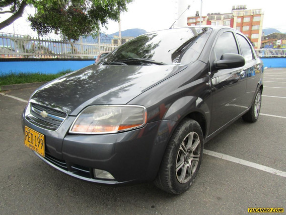 Chevrolet Aveo Sedan Fe