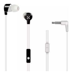 Auriculares In Ear Noblex Hp104w Con Micrófono Blancos