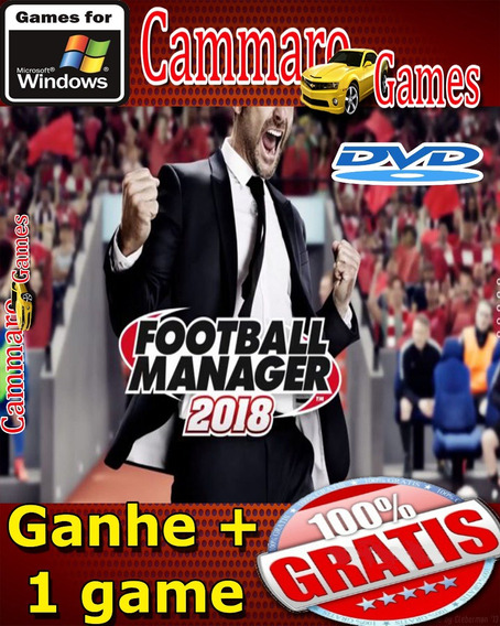 Football Manager 2018 Pc/dvd/mídia Física