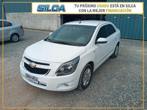 Chevrolet Cobalt Ltz 2013 Blanco 4 Puertas