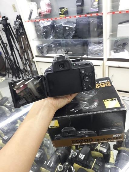 Camera Nikon D5200 + Lente 18-55 Mm Vr + Garantia