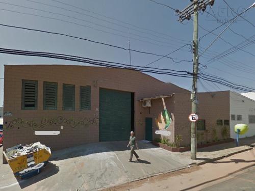 Barracão Comercial Para Venda E Locação, Vila Engler, Bauru - Ba0039. - Ba0039