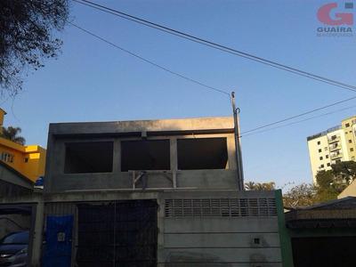 Salão Comercial Para Locação, Vila Guiomar, Santo André - Sl1749. - Sl1749