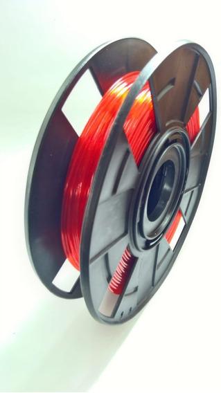 Filamento Pla Premium 1.75mm 400g Vermelho Translucido