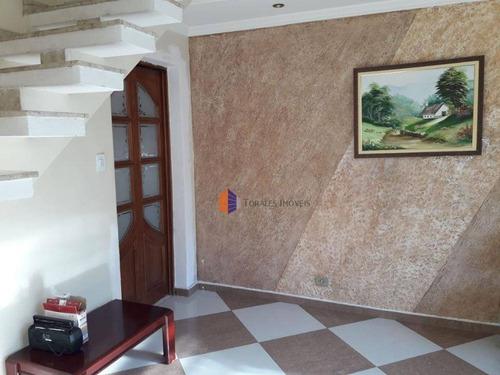 Imagem 1 de 19 de Sobrado Com 3 Dormitórios À Venda, 126 M² Por R$ 320.000,00 - Cidade São Mateus - São Paulo/sp - So1134