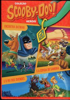 Coleção Scooby - Doo! Heróis - Box Com 3 Dvds - Novo Lacrado
