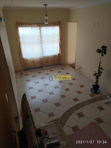 Apartamento Com 2 Dormitórios À Venda, 100 M² Por R$ 340.000 - Vila Santa Luzia - São Bernardo Do Campo/sp - Ap2035