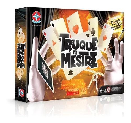 Jogo De Mágica Truque De Mestre Original Estrela