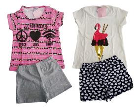 Roupa Infantil Kit 5 Conjuntos Feminino Menina Barato