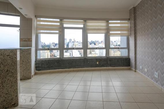 Apartamento No 20º Andar Com 1 Dormitório E 1 Garagem - Id: 892944751 - 244751