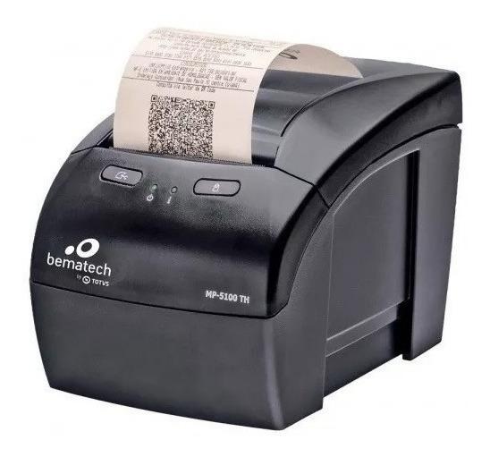 Impressora Não Fiscal Térmica Mp-5100 Th Preto - Bematech Nf