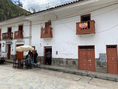 Se Vende Casa Frente A La Plaza De Chavin De Huantar