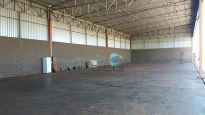 Galpão Comercial Para Venda E Locação, Recreio Anhangüera, Ribeirão Preto. - Ga0017