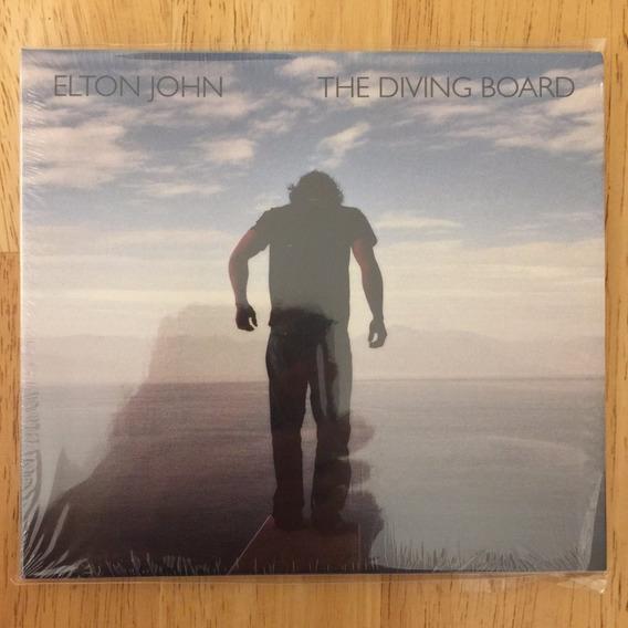 Cd Elton John The Diving Board (2013) C/ 4 Bonus - 1ª Edição