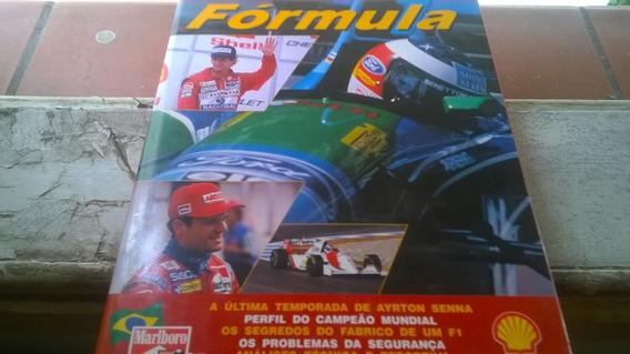 Livro Fórmula 1 - 1994 - 1995