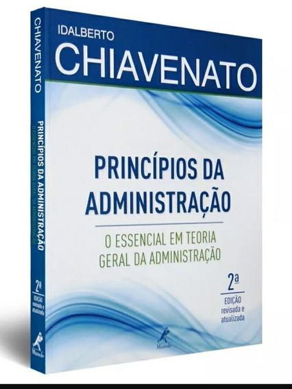 Idalberto Chiavenato Princípios Da Administraçao 2 Edição