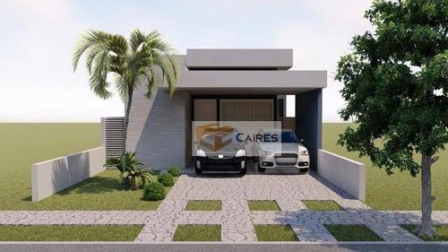 Imagem 1 de 9 de Casa Com 3 Dormitórios À Venda, 138 M² Por R$ 700.000,00 - Vila Monte Alegre Iv - Paulínia/sp - Ca2996