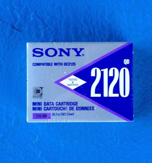Mini Data Cartridge Qd 2120 (120mb) Sony