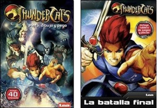 Lote X 2 - Thundercats - Nuevos Infantiles
