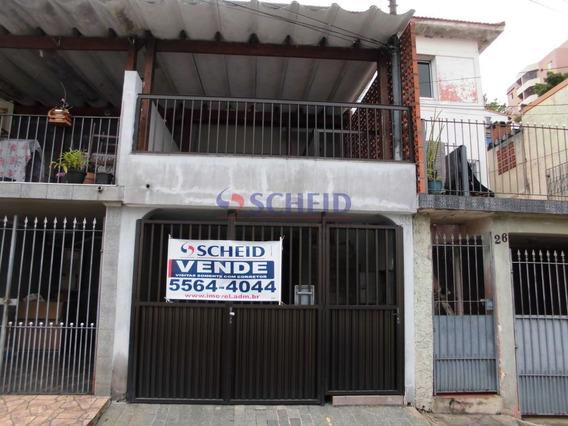 Casa Com Edicula 3 Dormitórios Varanda E Vaga Na Garagem No Jd. Consórcio - Mc7757